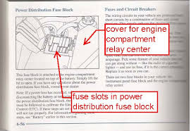 cadillac deville air suspension fuse  1999 cadillac a fuse diagram fuse block engine compartment