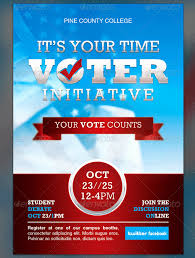 Campaign Poster Template Free Elegant Political Flyer Template Free
