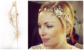 clara pearl hair vine wedding accessories