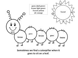 Color Word Worksheets For Kindergarten Worksheets For All Download ...