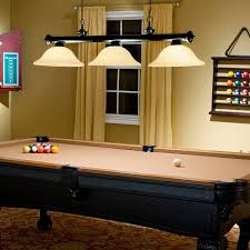 Prepossessing Light Fixtures Over Pool Table Fixtures Light Used Pendant Lighting Over Pool Table