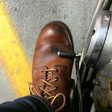 after the mink oil has dried it s time to take my redwings for a ride