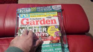 Kitchen Garden Magazine Kitchen Garden Magazine February 2017 Youtube