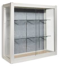 sws trophy and display case with sliding glass doors platinum visual systems