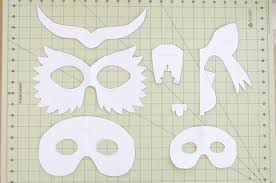 Animal Patterns To Trace Diy Cardboard Animal Masks For Halloween Project Nursery