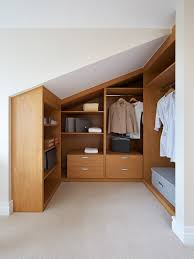 small loft furniture. Small Loft Walk In Wardrobe Closet Light Oak Furniture F
