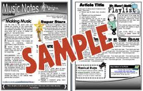 Music Newsletter Templates Bulletin Boards For The Music Classroom