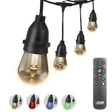 Feit Electric 30 Ft 15 Socket Indoor Outdoor Color