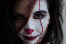 creepy clown makeup 9