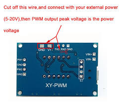 1hz 105khz 2 channel pwm generator pulse frequency duty cycle ambient temperature 30 ~70 degree