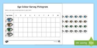 Free Eye Colour Survey Pictogram