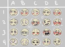 Emotion Chart Tumblr