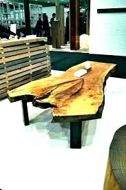tree trunk end table the side furniture base for top coffee w diy log end