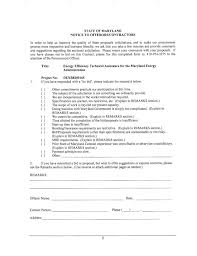 Bid Proposal Letter Bid No Bid Decision Making