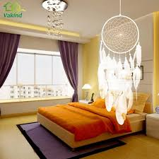 Where To Put Dream Catcher Impressive Home Wall Hanging Decoration Dream Catcher With Feathers Handmade