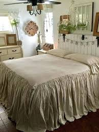 ruffle comforters beautiful bedroom completed with king size bedding with white ruffle comforter in bone color