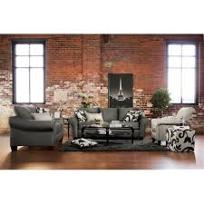Living Room Sofa And Loveseat Sets Colette Sofa And Loveseat Set Gray Value City Furniture