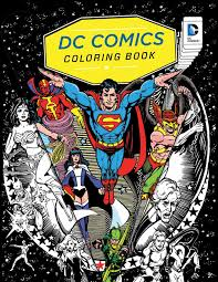 One deluxe shaped superman coloring book with foil cover and 30 stickers and one classic superman coloring book. Amazon Com Dc Comics Coloring Book 9781608878291 Insight Editions Books