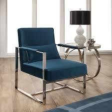 teal color accent chairs unbelievable spectacular abbyson sloan blue velvet chair interiors 24