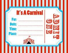 Carnival Party Invitation Templates Rome Fontanacountryinn Com