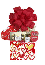 sweetheart valentine gift basket for her array of gifts houston tx delivery