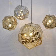 designer pendant lighting. aliexpresscom buy dia 25cm32cm47cm designer lighting etch shade suspension pendant lampsgolden stainless steel lights from reliable e