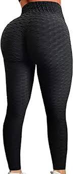 FITTOO Womens High Waisted Yoga Pants Tummy ... - Amazon.com