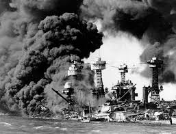 historian seeks to clear embassy of pearl harbor sneak attack the uss west virginia and the uss tennessee burn on dec