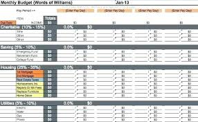 Sample Budget Worksheet Personal Monthly Excel Expense Sheet ...