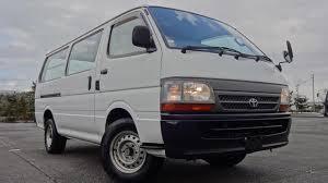 Japanese Used TOYOTA HIACE VAN DX LONG?DIESEL MANUAL?2WD?ENGINE 5L ...