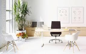 white office design. Wonderful White Blogmidcenturyfurnitureinoffice And White Office Design 0