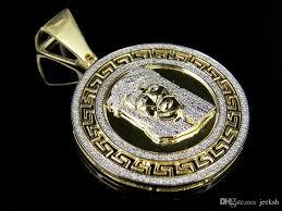 2019 mens 10k yellow gold genuine diamond bismark medallion pendant 1 2 ct 1 6 from jeeksh 58 3 dhgate com