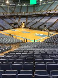 Dean Smith Center Section 130 Rateyourseats Com