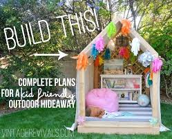 view in gallery diy playhouse plans childrens outdoor free easy