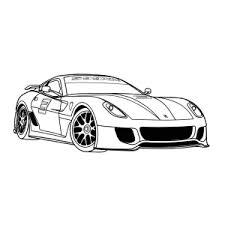 Raceauto Kleurplaat Merk Ferari Autos Kleurplaten Leuk Voor Kids