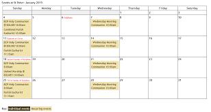 Calendars For June And July 2015 St Peters Church Cowfold Alternate Calendar