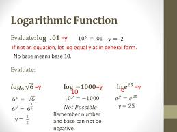 10 if not an equation let log equal y as in general form y no base means base 10 y 10 e