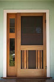 Storm Door Design Ideas Wood Screen Doors Are Good Choice For Your House Vintage