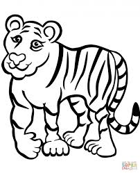 Small Picture Adult tiger coloring page Tiger Coloring Pages Printable Tiger