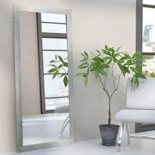 silver floor mirror. Rectangle Silver Framed Wall Mirror Floor