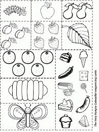 Small Picture Excellent Very Hungry Caterpillar Coloring Pages Printables 70 5350