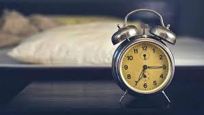 Wonderful Vintage Alarm Clock In Bedroom On A Night Table By The Bed Vintage Alarm  Clock In . Rainbow Alarm Clock Bedroom ...