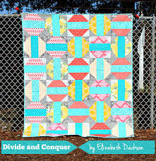 Divide and Conquer - free PDF pattern download   Quliting ... & Divide and Conquer quilt by Elizabeth Dackson: simple, beautiful, and a free  pattern. Adamdwight.com