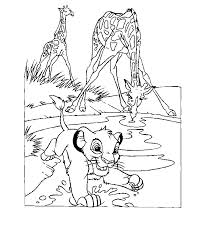 Small Picture Lion King Coloring Pages Online Coloring Home