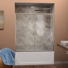 clawfoot sterling curtain ideas shower doors bathtub frameless bronze height door oil tub enclosure jacuzzi kit kits rubbed insert kohler glass corner