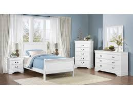 white bedroom set full. Interesting Full Homelegance MayvilleFull White Bedroom Group Throughout Set Full