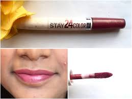 Maybelline 24 Hour Lipstick Colour Chart Maybelline Superstay 24 Color 2 Step Liquid Lipstick Very