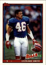 Amazon.com: 1991 Topps Football Card #53 Leonard Smith: Collectibles & Fine  Art