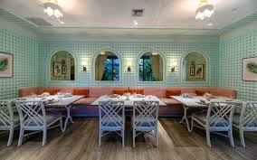 Italian Restaurants Design District Miami Swan Bar Bevy
