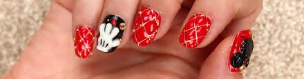 Celebrate Mickey's Birthday With 3D Mickey Mouse Nail Art